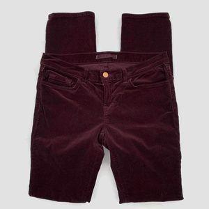 J Brand Pants - J Brand Corduroy Pencil Leg Skinny Pants 28